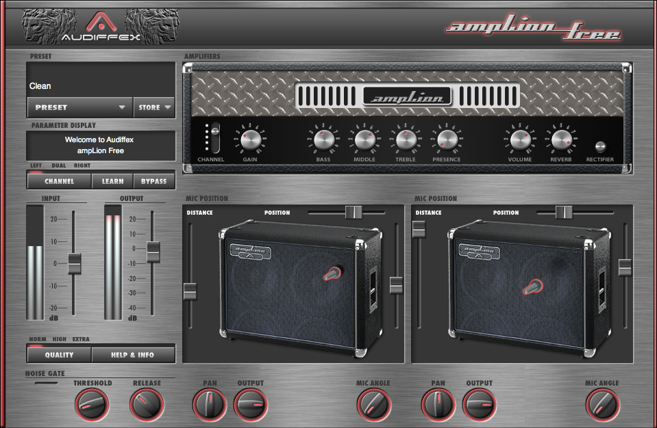 free virtual guitar amp for mac windows amplion. Black Bedroom Furniture Sets. Home Design Ideas